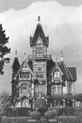 The          Carson Mansion - Eureka, California