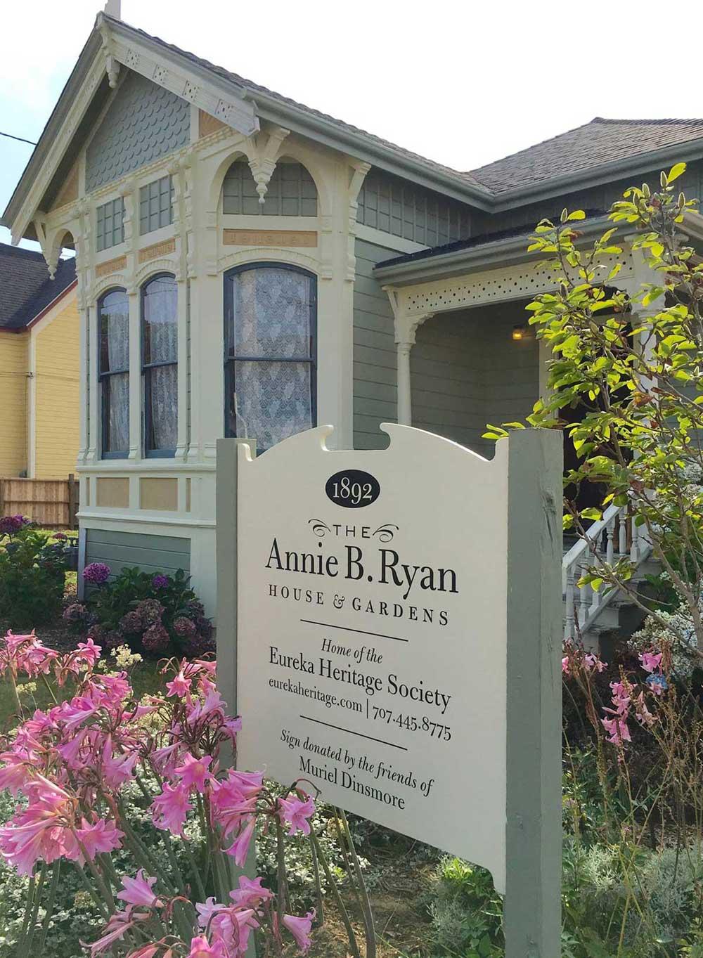 Annie B. Ryan House & Gardens