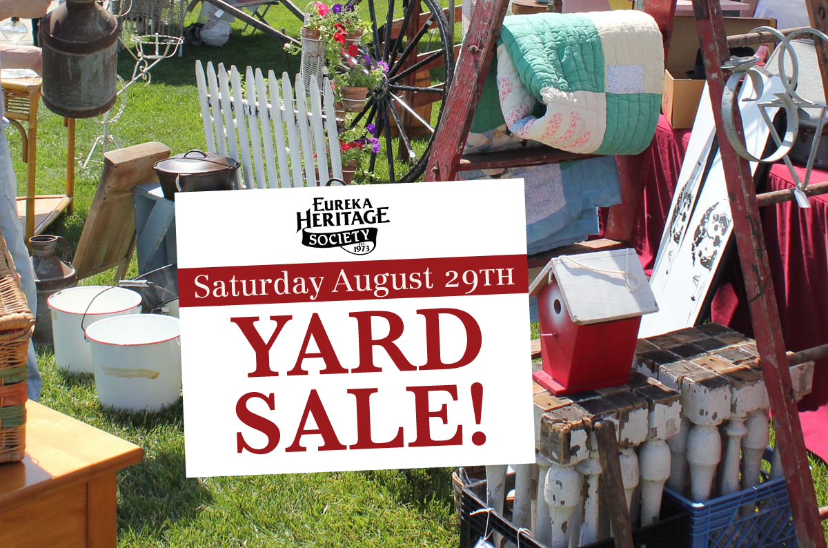 annual yard sale at Annie B. Ryan House & Gardens